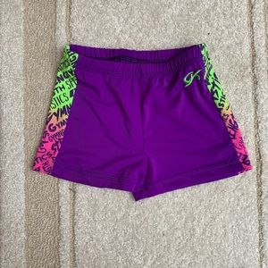 GK gymnastics shorts adult medium